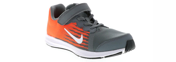 Nike Downshifter Kid's Shoes-Grey/Orange