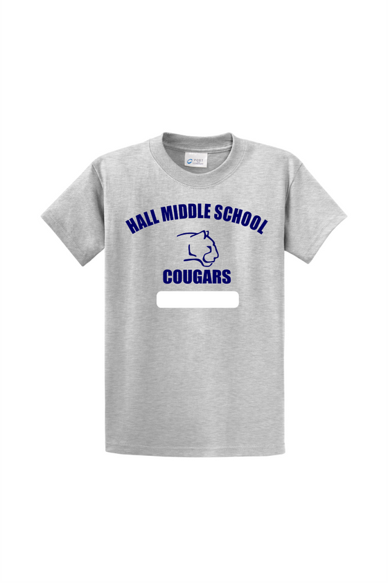 Hall Middle School P.E. Shirt