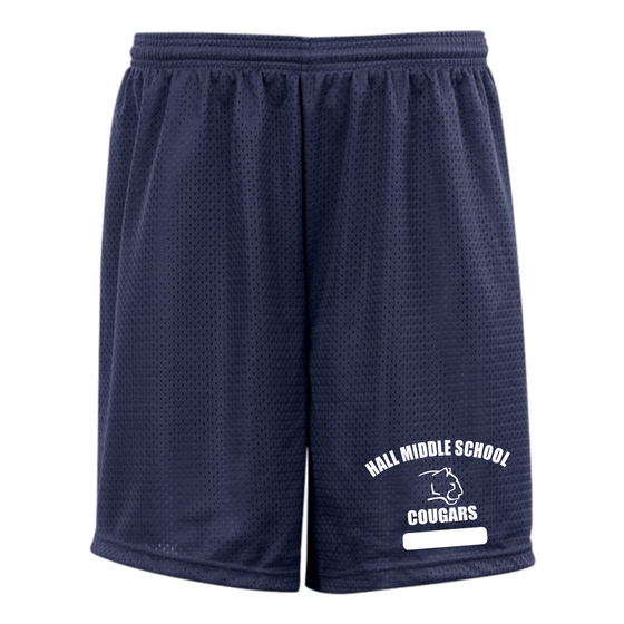 Hall Middle School P.E. Shorts