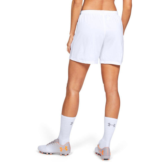 Under Armour Women's Match Shorts-White