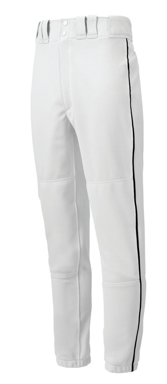 Mizuno Men's Pro Piped Cinched Baseball Pants