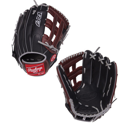 "Rawlings R9 12.75"" H-Web Baseball Glove"