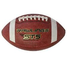 Rawlings ST5 Leather Football