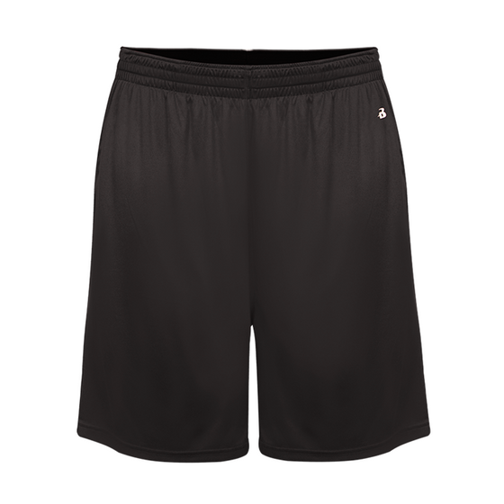 Youth Softlock Athletic Shorts-Grey