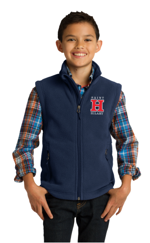 Saint Hilary Youth Fleece Vest