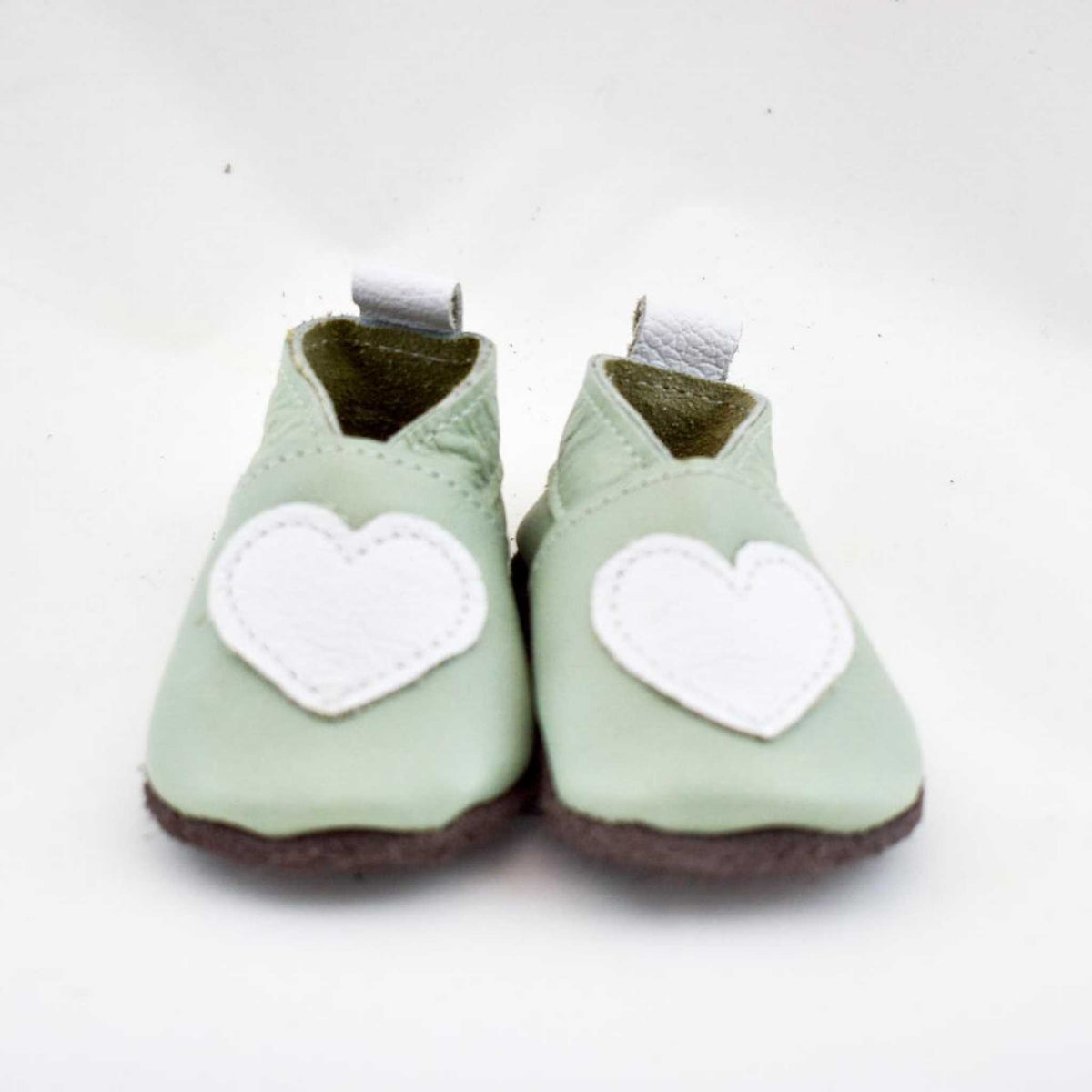 Soft soled leather shoes - Medium (6 - 12 months).