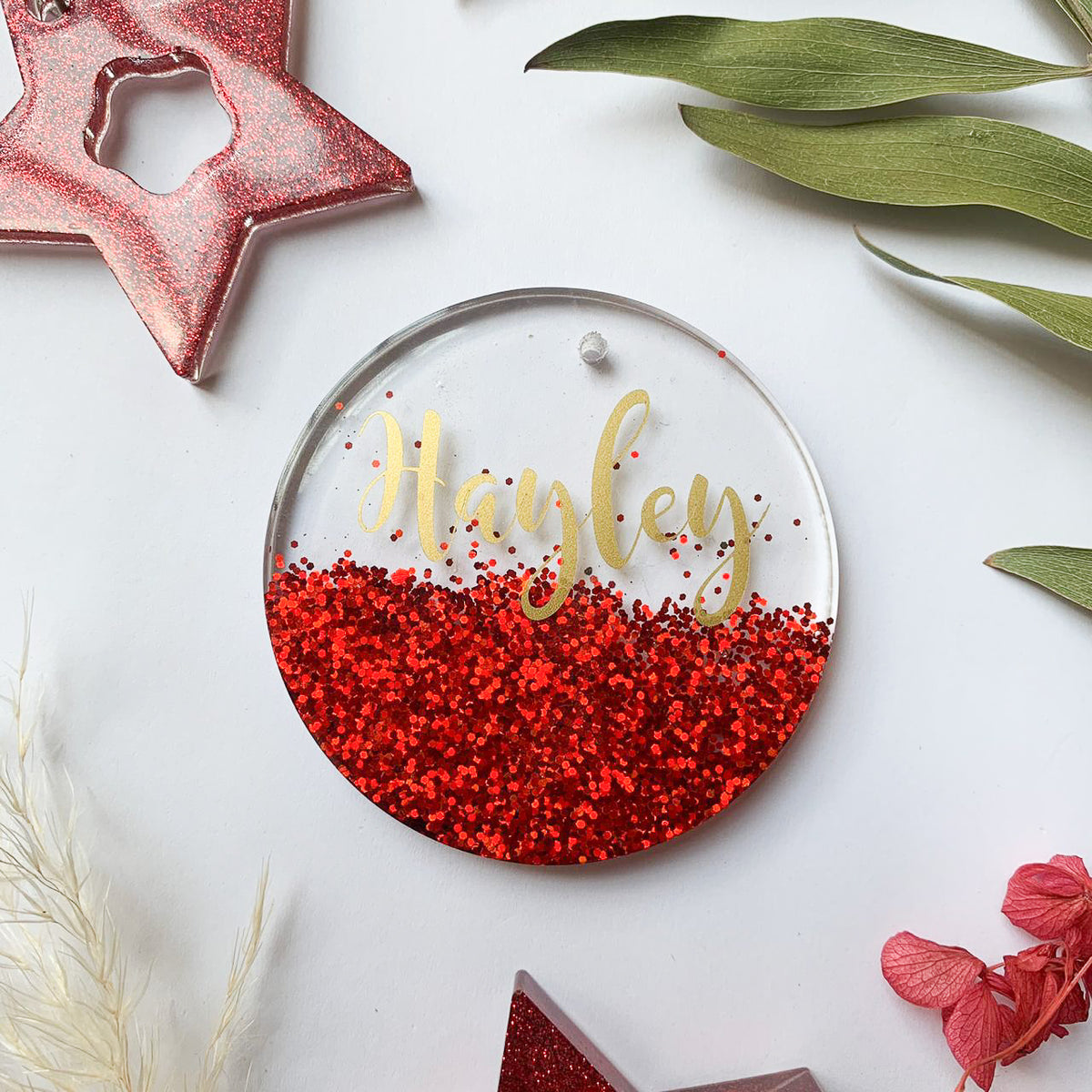 Personalised Ornaments - Small Round