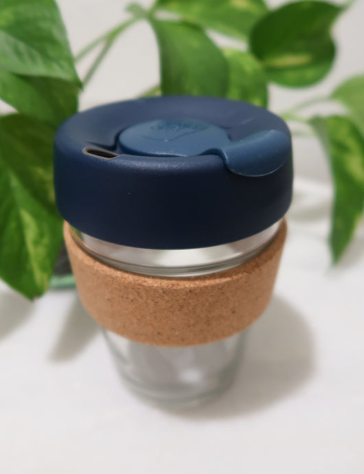Blue Reusable 12 oz. KeepCup