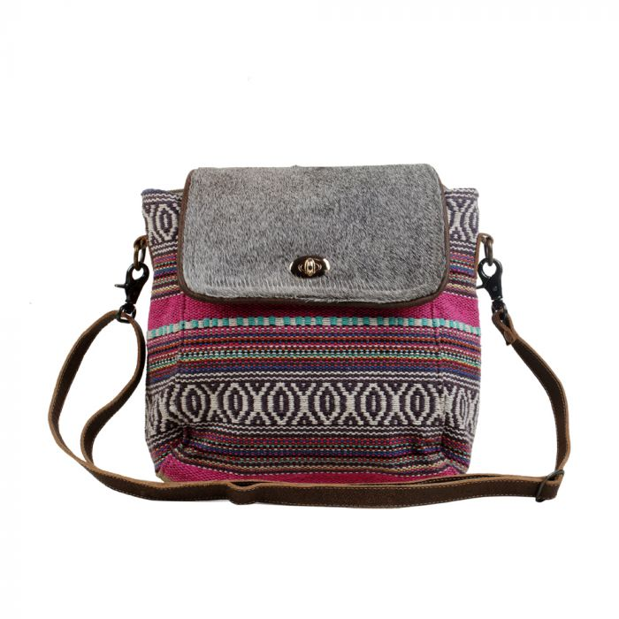 Pink Tiers Small & Crossbody Bag