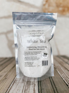 Simplified Soap White Tea Bath Salts