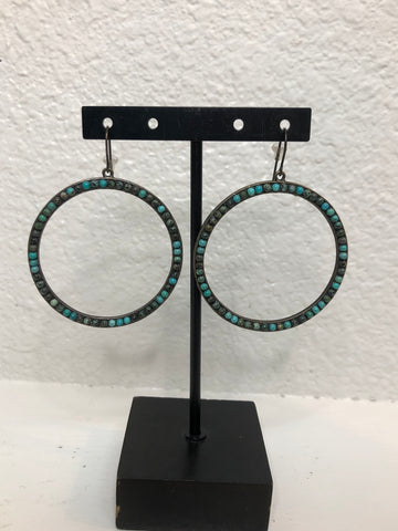 Rebel Circle Earrings