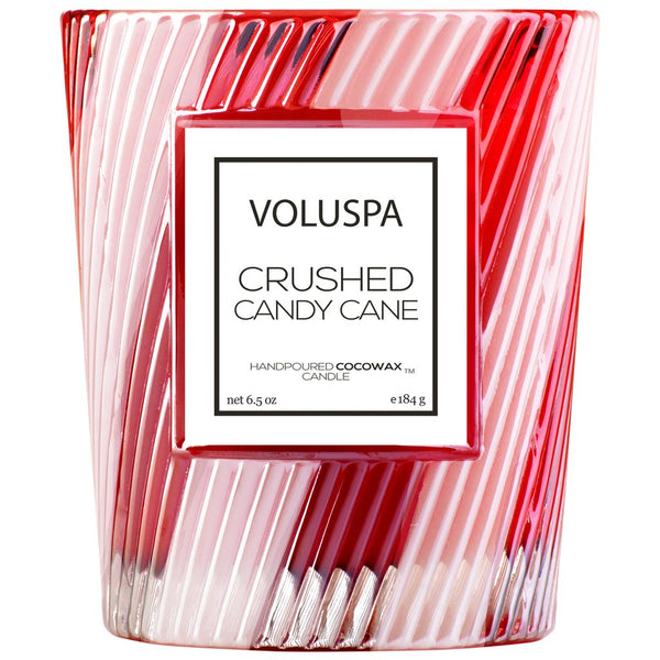 Voluspa Crushed Candy Cane Coconut Wax Candle