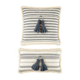 Square Tassel Fringe Pillow