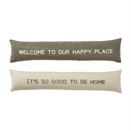 Happy Place Skinny Pillow