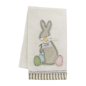 Bunny Applique Towel