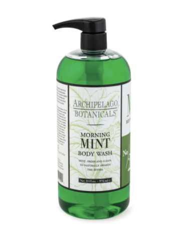 Archipelago Mint Body Wash