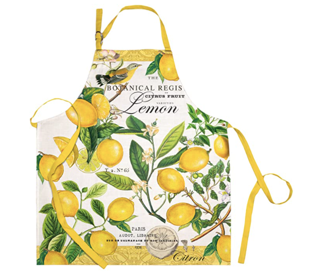 Michel Design Works Lemon Basil Apron