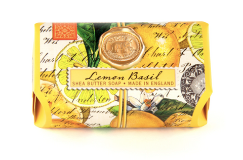 Michel Design Works Lemon Basil Large Soap