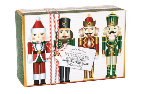 Michel Design Works Nutcracker Boxed Soap