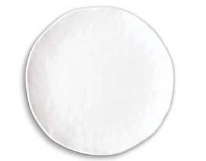 Michel Design Works White Plate
