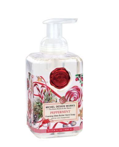Michel Design Works Peppermint Foaming Hand Soap