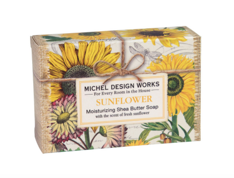 Michel Design Works Sunflower Boxed Soap