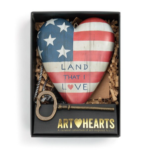 Land that Love Art Heart