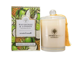 Wavertree & London Pineapple, Coconut & Lime Soy Candle