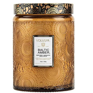 Voluspa Baltic Amber Coconut Wax Candle