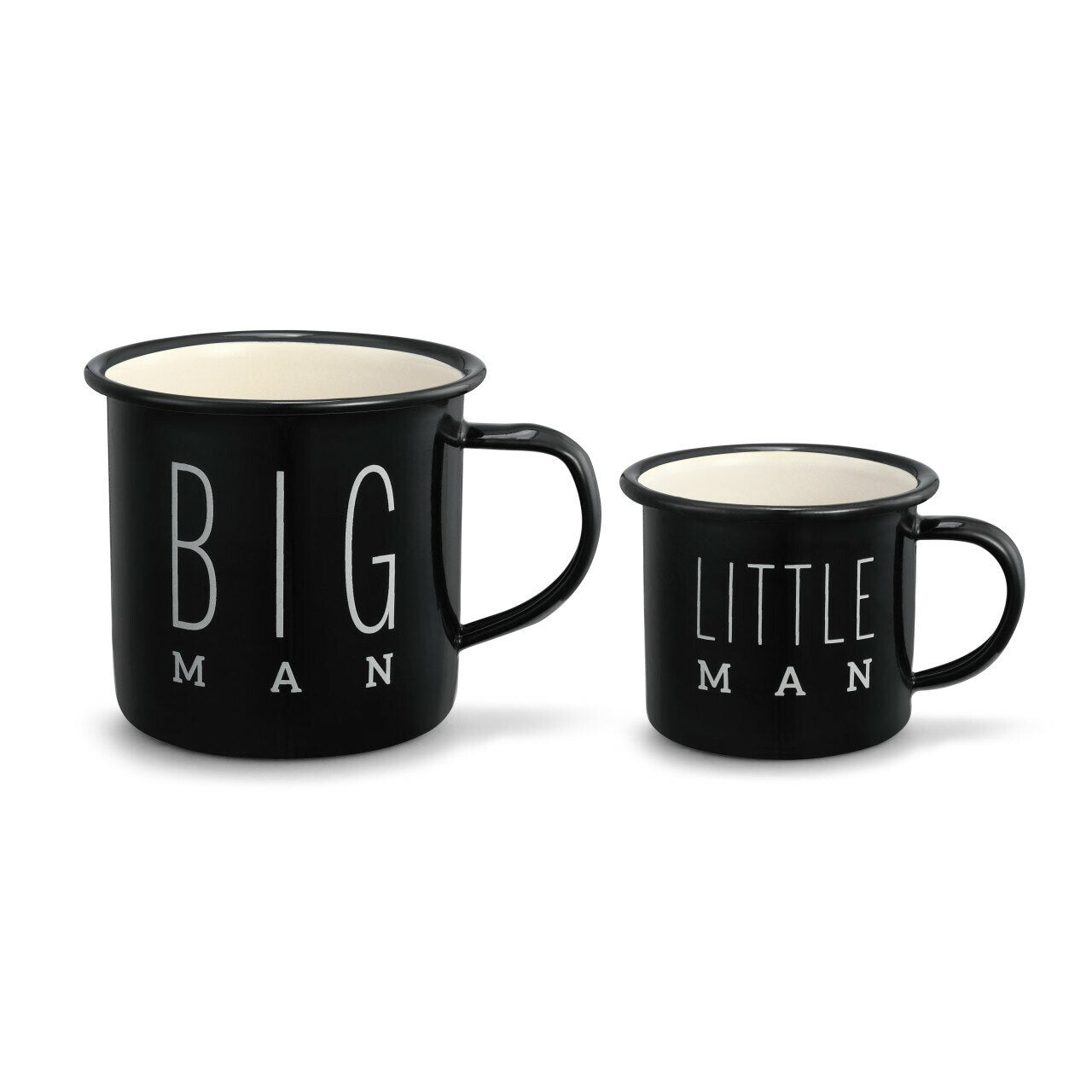 Big Man & Little Man Camper Mug Set