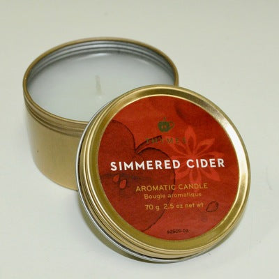 Simmered Cider Travel Tin Candle