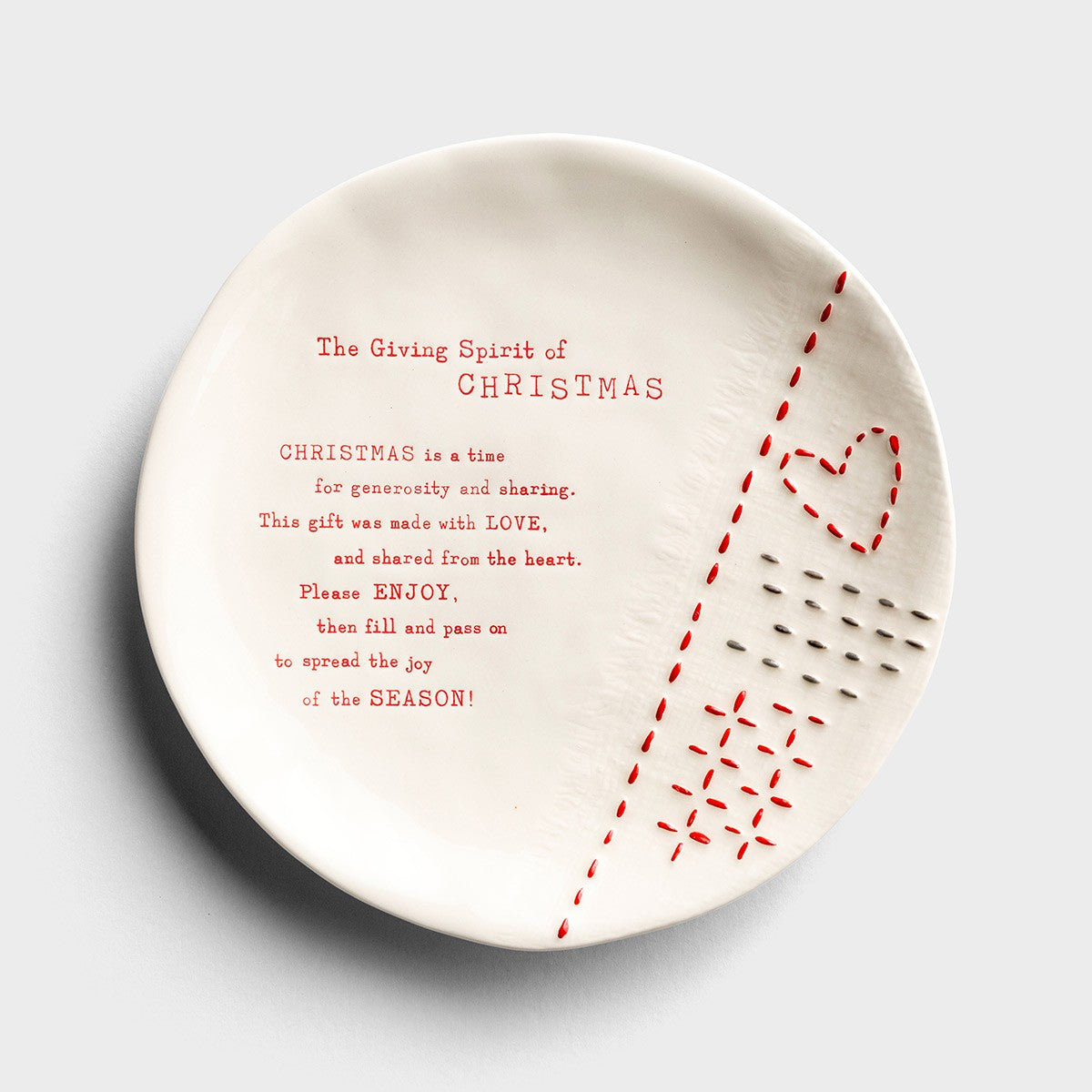 Christmas Giving Plate