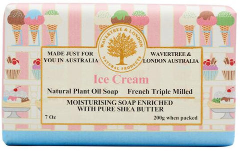 Wavertree & London Ice Cream Soap Bar