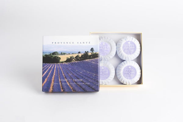 Provence Sante Four-Bar Gift Box