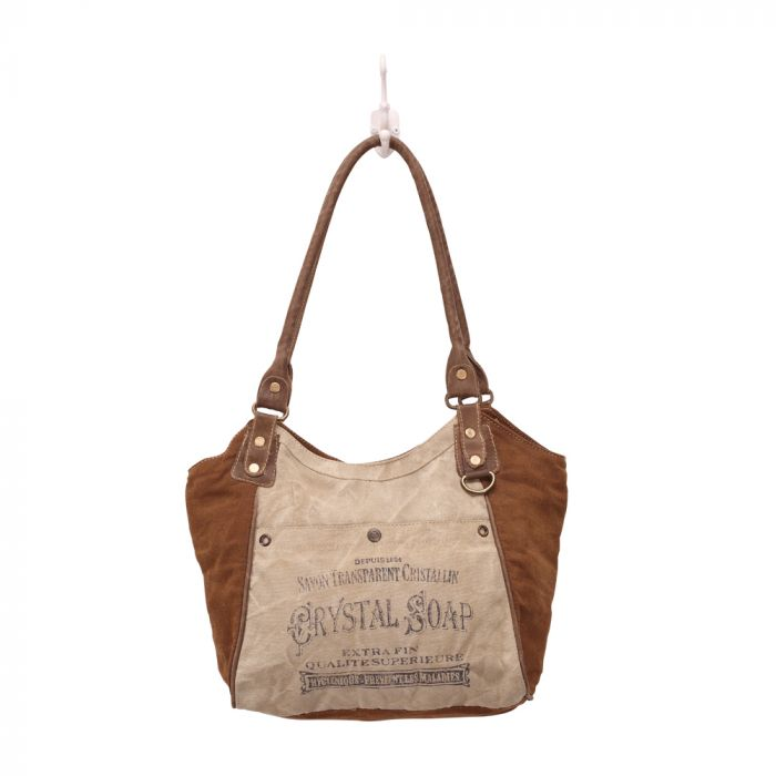 Crystal Soap Shoulder Bag