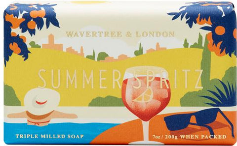 Wavertree & London Summer Spritz Soap Bar