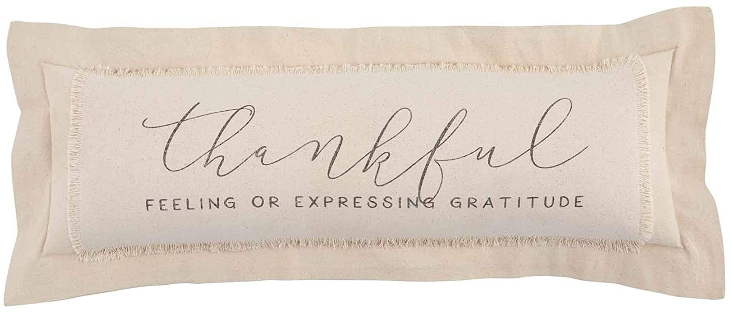 Thankful Definition Pillow