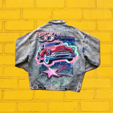 80's Acid Wash Jacket