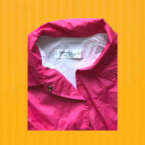 Hot Pink Coaches Jacket