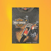 '91 Harley Heritage Softail tee by 3D Emblem