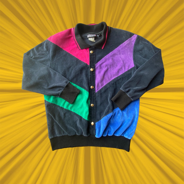 90's Velour Sweater