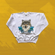 Load image into Gallery viewer, Vintage Timber Wolf Crewneck