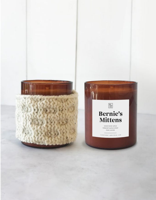 BERNIE'S MITTENS soy candle **Limited Edition*