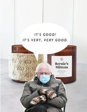 Load image into Gallery viewer, ***PREORDER and LIMITED EDITION*** Bernies mittens candle