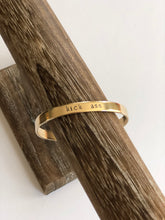 Load image into Gallery viewer, Copper Mantra Cuff in multiple sayings