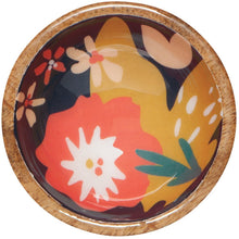 Load image into Gallery viewer, Mango Wood Pinch Bowl- NEW patterns!!