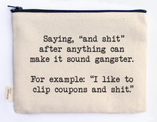 Load image into Gallery viewer, Hilarious Zipper Pouches- Assorted