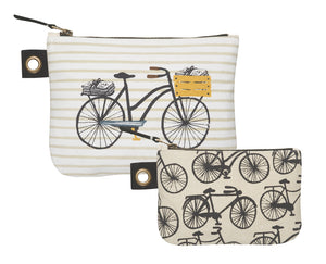 Bicicletta Zipper Pouch- small