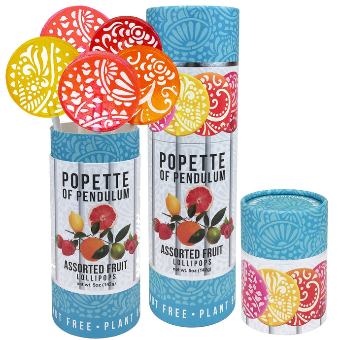 Popette of Pendulum's Lollipop Canister