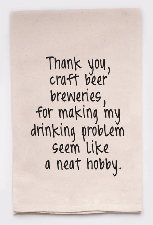 Craft Beer towel